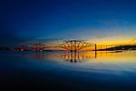 The Forth Rail Bridge at Sunrise