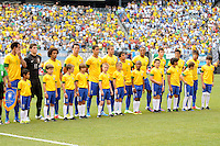 Brazil National Team. The Argentina National Team defeated Brazil 4-3 at MetLife Stadium, Saturday July 9 , 2012.