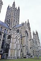 Canterbury: Canterbury Cathedral.
