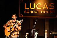 Bryan Greenberg performing at Lucas School House in St. Louis on Nov 23, 2008.