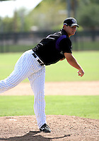 Alan Deratt / Colorado Rockies 2008 Instructional League..Photo by:  Bill Mitchell/Four Seam Images