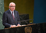 GA 72<br /> High-level meeting of the General Assembly on the appraisal of the United Nations Global Plan of Action to Combat Trafficking in Persons<br /> 25th plenary meeting<br /> <br /> Venezuela