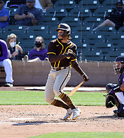 Luis Campusano - San Diego Padres 2021 spring training (Bill Mitchell)