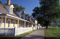 AJ0395, South Dakota, Officer's Quarters at Fort Sisseton State Park in Lake City.