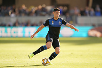 SAN JOSE, CA - SEPTEMBER 29: Cristian Espinoza #10 of the San Jose Earthquakes during a Major League Soccer (MLS) match between the San Jose Earthquakes and the Seattle Sounders on September 29, 2019 at Avaya Stadium in San Jose, California.