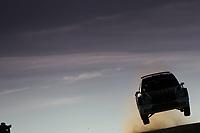 10th October 2020, Alghero, Sardinia, Italy; WRC Rally of Sardinia;   Solberg gets airborne