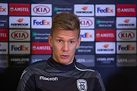 2018 11 28 PAOK training a press conference, Chelsea, London, UK