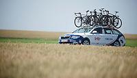 Lotto-Belisol teamcar<br /> <br /> Tour de France 2013<br /> stage 13: Tours to Saint-Amand-Montrond, 173km