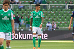 19.09.2020, wohninvest Weserstadion, Bremen, GER,  SV Werder Bremen vs Hertha BSC Berlin, <br /> <br /> <br />  im Bild<br /> <br /> enttäuscht / enttaeuscht / traurig / Niederlage / dissapointed<br /> Davie Selke  (SV Werder Bremen #09)<br /> Einzelaktion, Halbkörper / Halbkoerper,<br /> <br /> Foto © nordphoto / Kokenge<br /> <br /> DFL regulations prohibit any use of photographs as image sequences and/or quasi-video.