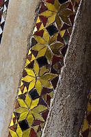 Kreuzgang Chiostro dei Benedettini beim Dom in Monreale, Sizilien, Italien Kreuzgang Chiostro dei Benedettini beim Dom in Monreale, Sizilien, Italien, UNESCO-Weltkulturerbe