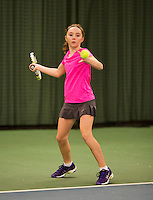 March 8, 2015, Netherlands, Rotterdam, TC Victoria, NOJK, Sanne Schalekamp (NED)<br /> Photo: Tennisimages/Henk Koster