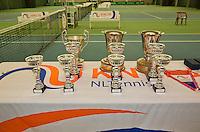 March 15, 2015, Netherlands, Rotterdam, TC Victoria, NOJK, trophy<br /> Photo: Tennisimages/Henk Koster
