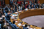 Security Council meeting<br /> <br /> The situation in the Middle East<br /> <br /> Vote