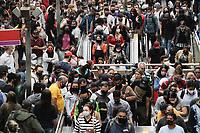 31.08.2020 - Movimentação na estação da Luz em SP