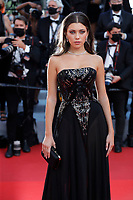 """CANNES, FRANCE - JULY 17: Amelie Zilber at the final screening of """"OSS 117: From Africa With Love"""" and closing ceremony during the 74th annual Cannes Film Festival on July 17, 2021 in Cannes, France. <br /> CAP/GOL<br /> ©GOL/Capital Pictures"""