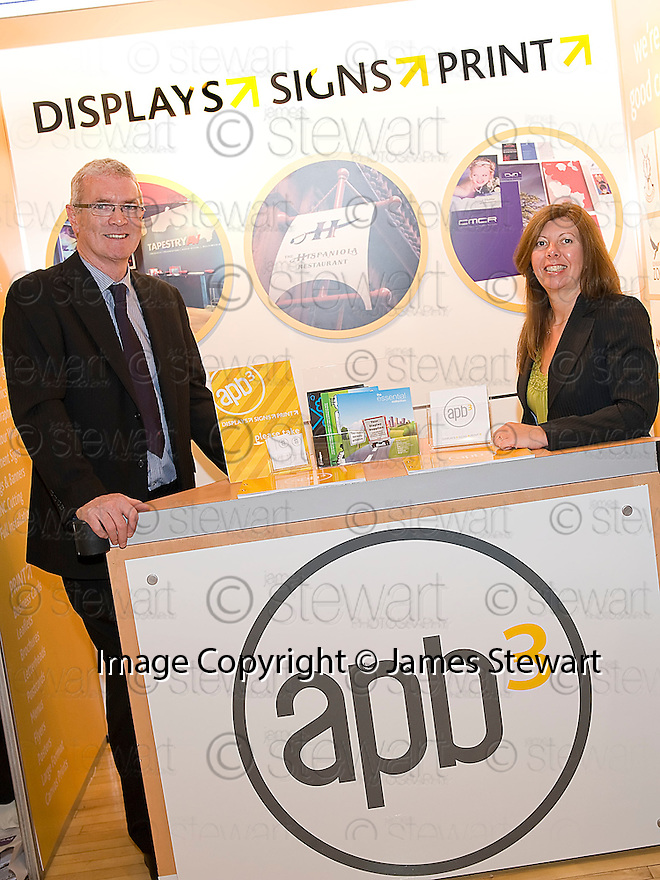 Falkirk Business Exhibition 2011<br /> APB Displays