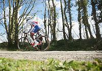 Lorrenzo Manzin (FRA/FDJ)<br /> <br /> 33th Tro Bro Léon 2016