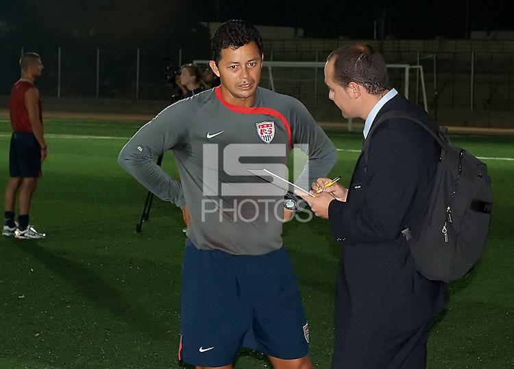 Head Coach Wilmer Cabrera. U.S. Under-17 Men Training in Kano, Nigeria.