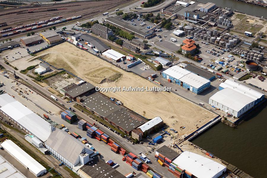 Steinwerder Hafen: EUROPA, DEUTSCHLAND, HAMBURG 26.08.2019 Steinwerder Hafen