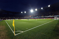 Thursday 27 February 2014<br /> Pictured: Interior view of Stadio San Paolo.<br /> Re: UEFA Europa League, SSC Napoli v Swansea City FC at Stadio San Paolo, Naples, Italy.