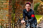 Cyclist Michelle Geoghean