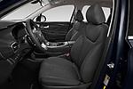 Front seat view of 2021 Hyundai Santa-FE SEL 5 Door SUV Front Seat  car photos