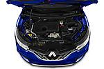 Car Stock 2019 Renault Kadjar Intens 5 Door SUV Engine  high angle detail view