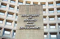 Housing Urban Development Building Washington DC
