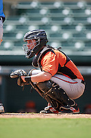 Baltimore Orioles Jerry McClanahan (13) during an instructional league game against the Tampa Bay Rays on September 25, 2015 at Ed Smith Stadium in Sarasota, Florida.  (Mike Janes/Four Seam Images)