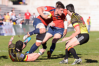 Spain's Gautier Gibouin during Rugby Europe Championship 2017 match between Spain and Belgium in Madrid. March 18, 2017. (ALTERPHOTOS/Borja B.Hojas) /NORTEPHOTO.COM