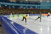 SCHAATSEN: HEERENVEEN: 30-12-2018, IJsstadion Thialf, NK Afstanden, ©foto Martin de Jong
