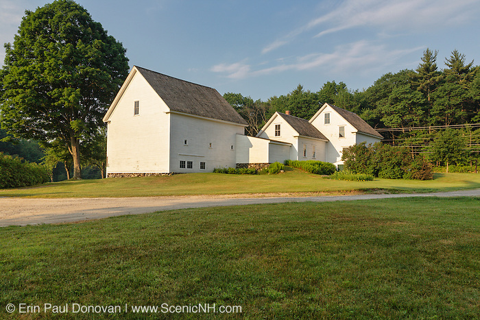 Robert Frost Farm State Historic Site in Derry, New Hampshire USA