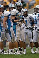 23 September 2006: The Citadel offensive tackle Caleb Conant (75)..The Pitt Panthers beat The Citadel Bulldogs 51-6 on September 23, 2006 at Heinz Field, Pittsburgh, Pennsylvania.