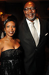 Elaine and Dwight Jefferson at the Top 25 Women of Houston event at The Houstonian Friday Oct. 15, 2010. (Dave Rossman/For the Chronicle)