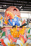Most floats paraded through the city during the annual Mardi Gras festival are designed and made at Blaine Kern's Mardi Gras World.  In fact, the studio's work is displayed in parades, theme parks, casinos, and amusement parks across the world, including Japan's Toho Park, Philadelphia's Thanksgiving Day Parade, Universal Studios Florida and parades in Antibes.