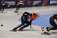 SPEEDSKATING: DORDRECHT: 05-03-2021, ISU World Short Track Speedskating Championships, Heats 1000m Ladies, Selma Poutsma (NED), ©photo Martin de Jong
