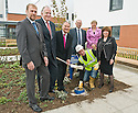 10/05/2010   Copyright  Pic : James Stewart.009_nhs_time_capsule  .::  NHS FORTH VALLEY ROYAL HOSPITAL, LARBERT, TIME CAPSULE :: THE TIME CAPSULE, NOT DUE TO BE OPENED UNTIL 2120,  IS BURIED AT THE NEW FORTH VALLEY ROYAL HOSPITAL :: Left to Right Standing ; MIKE MACKAY, PROJECT DIRECTOR SERCO ; MARTIN WATSON, PROJECT DIRECTOR FORTH HEALTH ;  IAN MULLEN, CHAIRMAN NHS FORTH VALLEY ; LINDSAY MCGIBBON, PROJECT DIRECTOR LAING O'ROURKE ; FIONA MCKENZIE, CHEIF EXECUTIVE NHS FORTH VALLEY ; MAUREEN COYLE, PROJECT DIRECTOR NHS FORTH VALLEY ; Kneeling DAVID SOMMERVILLE, CONSTRUCTION OPERATIVE::