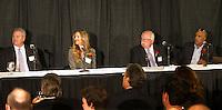 NOVEMBER 14, 2012--SAN JOSE. CA-- San Jose Sport Authority Hall of Fame 2012 dinner at the HP Pavilion.