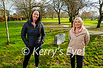 Enjoying a stroll in the Tralee town park on Monday, l to r: Patricia Molloy and Neasa O'Connor