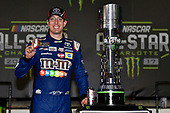 Monster Energy NASCAR Cup Series<br /> Monster Energy NASCAR All-Star Race<br /> Charlotte Motor Speedway, Concord, NC USA<br /> Saturday 20 May 2017<br /> Kyle Busch, Joe Gibbs Racing, M&M's Caramel Toyota Camry celebrates his win in Victory Lane<br /> World Copyright: Nigel Kinrade<br /> LAT Images<br /> ref: Digital Image 17CLT1nk07313