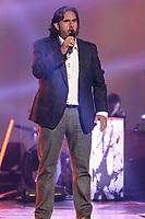 Marc Hervieux performs during the Telethon Enfant Soleil in Quebec City Sunday June 3, 2012.