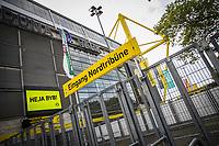 16th May 2020, Signal Iduna Park, Dortmund, Germany; Bundesliga football, Borussia Dortmund versus FC Schalke;   Closed entrances of the Signal Iduna Park