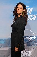 "LOS ANGELES - JUL 15:  Cristina Rosato at Disney+ ""Turner & Hooch"" Premiere Event at Westfield Century City Mall on July 15, 2021 in Century City, CA"