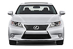 Straight front view of a 2013 Lexus ES 350
