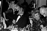 PATRICIA KENNEDY  E MASSIMO GARGIA<br /> PREMIO THE BEST RAINBOW ROOM ROCKFELLER CENTER NEW YORK 1982