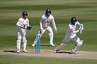 Hanuma Vihari in batting action for Warwickshire during Warwickshire CCC vs Essex CCC, LV Insurance County Championship Group 1 Cricket at Edgbaston Stadium on 25th April 2021