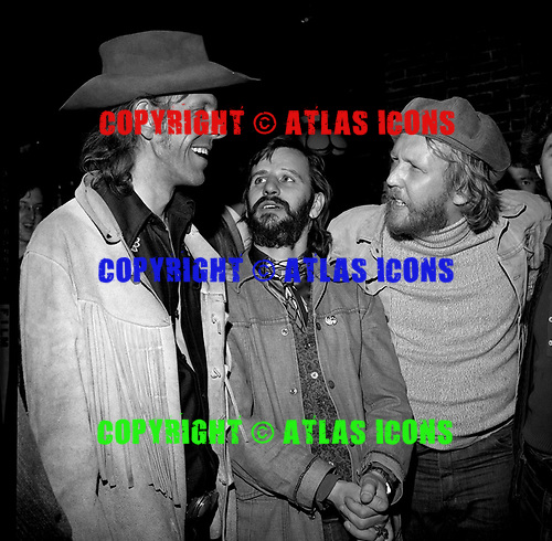 KRIS KRISTOFFERSON_RINGO STARR_MICKEY DOLENZ_BUFFY ST MARIE_HARRY NIELSON<br /> Photo Credit: James Fortune/AtlasIcons.com