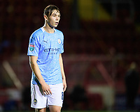 Manchester City U21's Callum Doyle<br /> <br /> Photographer Chris Vaughan/CameraSport<br /> <br /> EFL Papa John's Trophy - Northern Section - Group E - Lincoln City v Manchester City U21 - Tuesday 17th November 2020 - LNER Stadium - Lincoln<br />  <br /> World Copyright © 2020 CameraSport. All rights reserved. 43 Linden Ave. Countesthorpe. Leicester. England. LE8 5PG - Tel: +44 (0) 116 277 4147 - admin@camerasport.com - www.camerasport.com