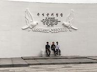 UN-Gedenkfriehof-United Nations Memorial Cemetery, Busan, Gyeongsangnam-do, Südkorea, Asien<br /> United Nations Memorial Cemetery, Busan,  province Gyeongsangnam-do, South Korea, Asia