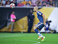 Houston, TX - Tuesday June 21, 2016: Javier Mascherano during a Copa America Centenario semifinal match between United States (USA) and Argentina (ARG) at NRG Stadium.